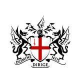 Modernes London-Wappen Vektor Stockbild