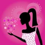 Modernes Mädchen Lizenzfreie Stockbilder