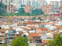 Modernes Madrid Stockfotografie
