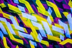 Modernes Malereifragment des abstrakten Acrylhintergrundes Buntes r Lizenzfreies Stockfoto