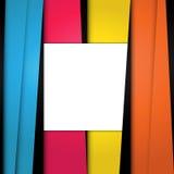 Modernes materielles Design des Hintergrundes Geometrisches Formular Abstraktes kreatives Konzept Leerraum für Sie Textdesignvekt Stockfotos