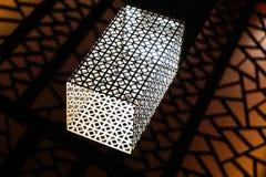 Modernes Metalllicht Lizenzfreie Stockbilder