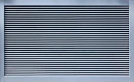 Modernes Metallventillation Rasterfeld stockfotografie