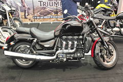 Triumph-Motorrad lizenzfreie stockfotos