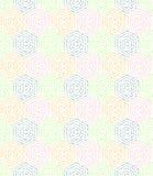 Modernes nahtloses punktiertes Muster Lizenzfreies Stockbild