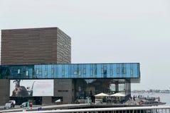 Modernes neues Schauspielhaus in Kopenhagen Lizenzfreies Stockfoto