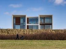 Modernes residense dänischer Entwurf in Esbjerg, Dänemark lizenzfreies stockfoto