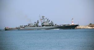 Modernes russisches Kriegsschiff Lizenzfreie Stockfotografie
