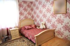 Modernes Schlafzimmer Lizenzfreie Stockfotos
