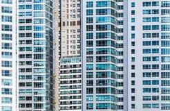 Modernes städtisches Architekturzusammenfassungsmuster Stockfotos