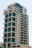 Modernes städtisches Gebäudeäußeres Stockfoto