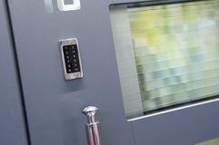 Modernes Tür-Detail Stockfotografie