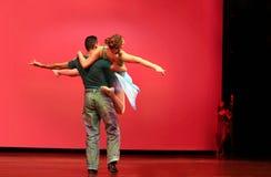 Modernes Tanzen lizenzfreie stockfotografie