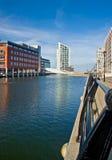 Modernes Teil von Liverpool Stockbild