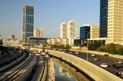 Modernes Tel Aviv Stockfotografie