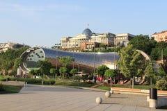 Modernes Tiflis Stockfotos