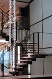 Modernes Treppenhaus Stockfotografie