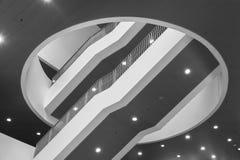 Modernes Treppenhaus Stockfoto