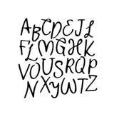 Modernes Vektor-Alphabet schriftkegel stock abbildung