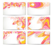 Modernes Visitenkarte-Set. Lizenzfreie Stockfotos