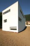 Modernes weißes Haus Lizenzfreie Stockfotografie