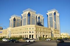 Modernes Wohnbulding in Astana lizenzfreie stockfotos