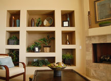 Modernes Wohnzimmer Stockfotografie