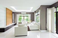 Modernes Wohnzimmer Lizenzfreie Stockbilder
