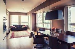 Modernes Wohnzimmer Lizenzfreies Stockfoto