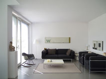 Modernes Wohnzimmerdetail Lizenzfreie Stockfotos