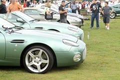 Modernes zagato Astons Martin db7 in der Aufstellung Lizenzfreie Stockfotos