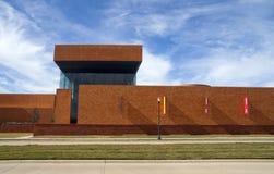 Modernes Ziegelstein-Gebäude Stockbild