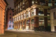 Modernes Ziegelstein-Gebäude Stockfotografie
