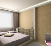 moderni interni 3d rendono illustrazione vettoriale