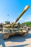 Moderniserad behållare T-72 Ryssland Arkivbilder