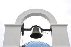 Modernisierter Glockenturm. stockbilder