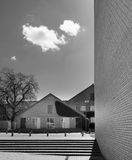 Modernism - Århus universitet, Danmark arkivbilder