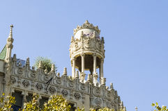 Jugendstil in Barcelona Royalty Free Stock Image