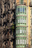 Modernism building in Eixample district in Barcelona Stock Photography