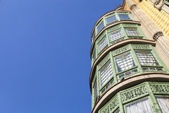 Modernism building in Eixample district in Barcelona Royalty Free Stock Photo