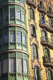 Modernism building in Eixample district in Barcelona Royalty Free Stock Image