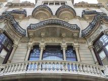 Modernism i Barcelona (Spanien) arkivbild
