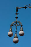 Modernist Барселона светильника Стоковая Фотография RF