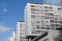 Modernist apartment blocks Royalty Free Stock Photos