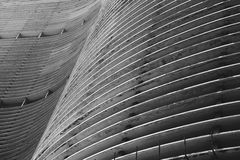 Modernist Braziliaans Architectuursao Paulo Brazil Royalty-vrije Stock Afbeelding