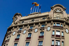 Modernist building in Barcelona Stock Images