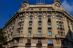 Modernist building in Barcelona Royalty Free Stock Image