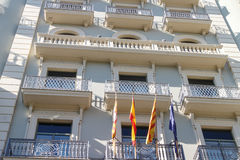 Modernist building from Barcelona, Spain. Modernist building from barcelona, Catalonia, Spain Stock Photo