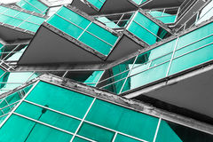 Modernist Building Design Royalty Free Stock Photo