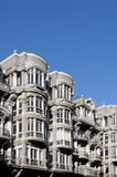 Modernist building in Oviedo, Asturias Stock Photo